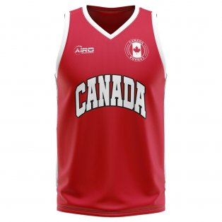 Canada Home Concept Basketball Shirt
