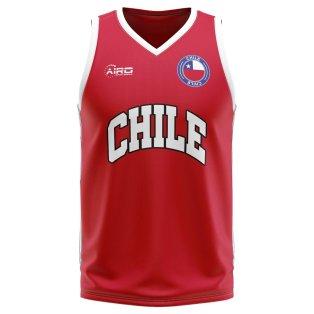 Chile Home Concept Basketball Shirt