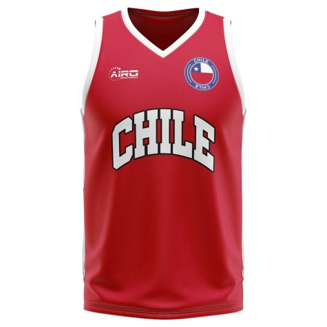 Chile Home Concept Basketball Shirt