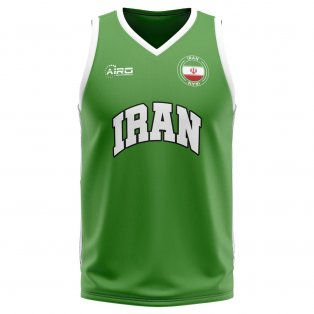 Iran Home Concept Basketball Shirt