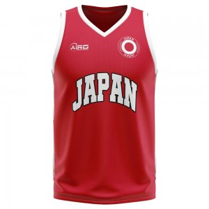 Japan Home Concept Basketball Shirt - Little Boys