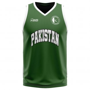 Pakistan Home Concept Basketball Shirt