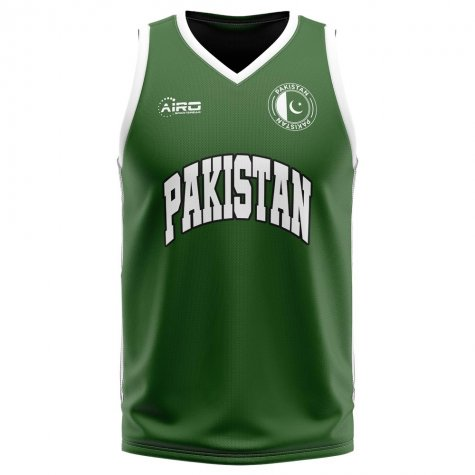 Pakistan Home Concept Basketball Shirt - Little Boys