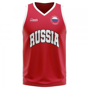 Russia Home Concept Basketball Shirt - Baby