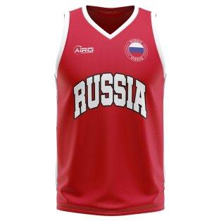 Russia Home Concept Basketball Shirt