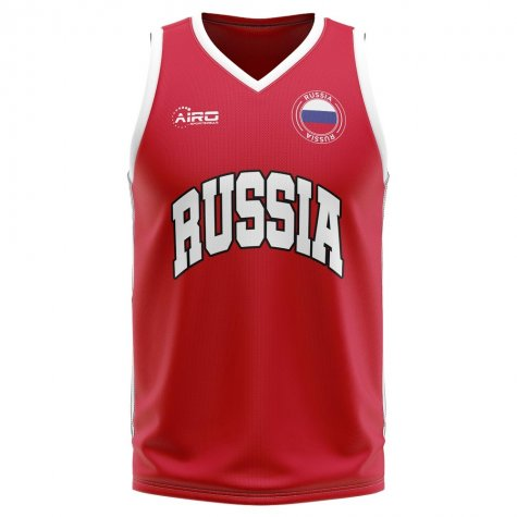 Russia Home Concept Basketball Shirt - Little Boys