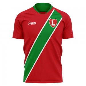 2020-2021 Lokomotiv Moscow Home Concept Football Shirt - Womens