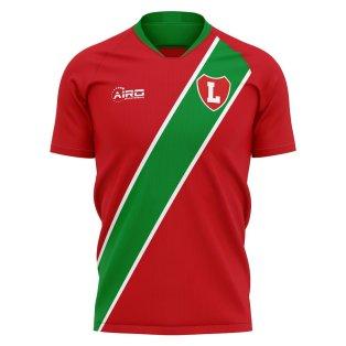 2020-2021 Lokomotiv Moscow Home Concept Football Shirt