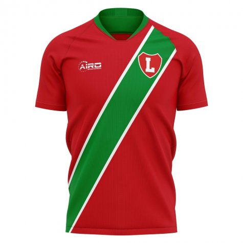 2019-2020 Lokomotiv Moscow Home Concept Football Shirt - Womens