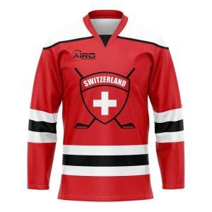 Switzerland Home Ice Hockey Shirt