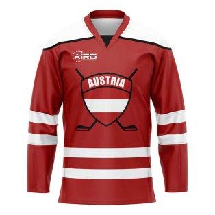 Austria Home Ice Hockey Shirt