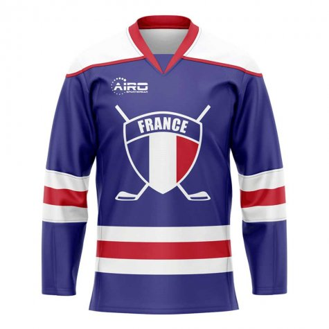 France Home Ice Hockey Shirt