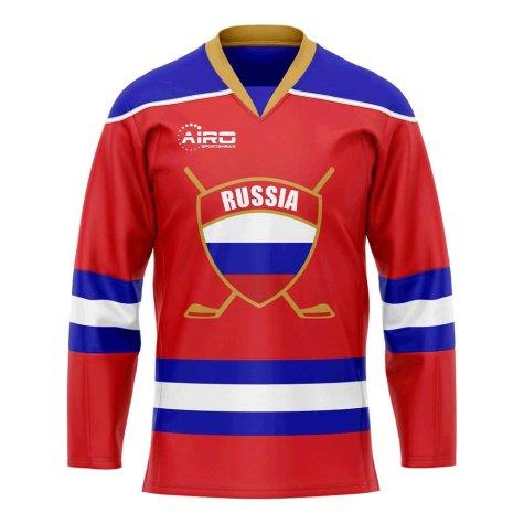 Russia Home Ice Hockey Shirt