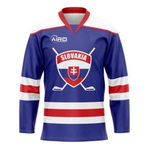 Slovakia Home Ice Hockey Shirt