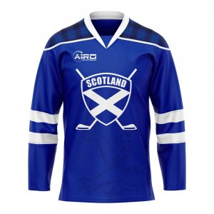 Scotland Home Ice Hockey Shirt