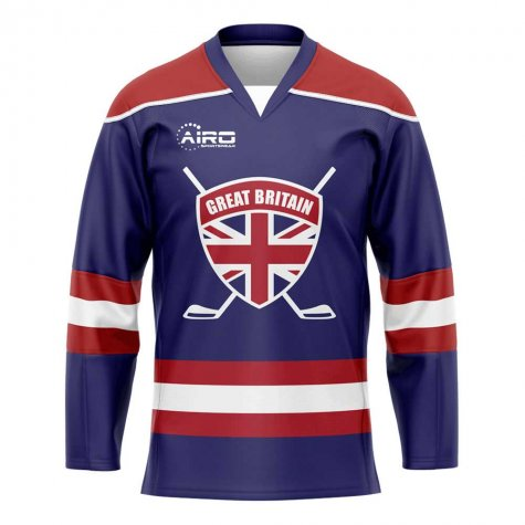 Great Britain Home Ice Hockey Shirt