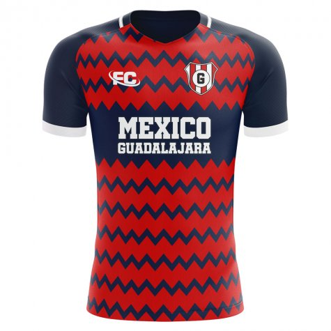 2019-2020 Chivas Guadalajara Fans Culture Away Concept Shirt - Kids