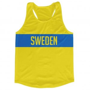 Sweden Stripe Running Vest