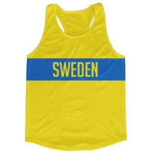 Sweden Stripe Running Vest