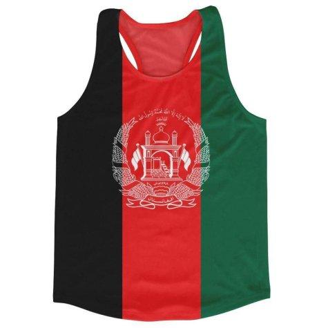 Afghanistan Flag Running Vest