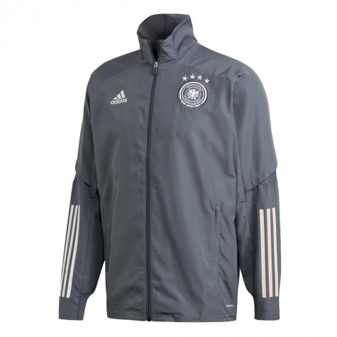 2020-2021 Germany Adidas Presentation Jacket (Onix) - Kids