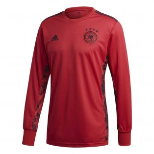 2020-2021 Germany Home Adidas Goalkeeper Shirt