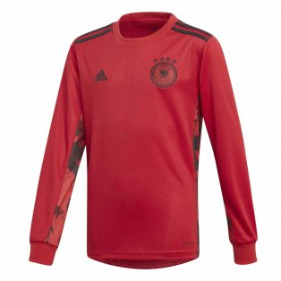 2020-2021 Germany Home Adidas Goalkeeper Shirt (Kids)