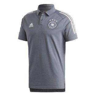 2020-2021 Germany Adidas Polo Shirt (Onix)