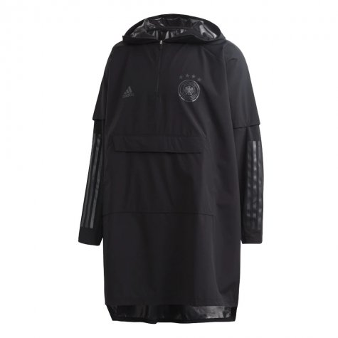 2020-2021 Germany Adidas Poncho (Black)