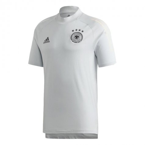 2020-2021 Germany Adidas Training Tee (Grey) - Kids