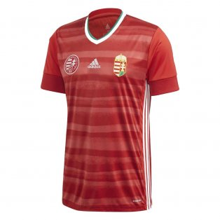 2020-2021 Hungary Home Adidas Football Shirt