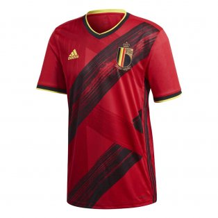 2020-2021 Belgium Home Adidas Football Shirt