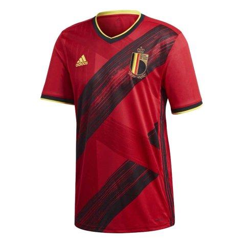 2020-2021 Belgium Home Adidas Football Shirt
