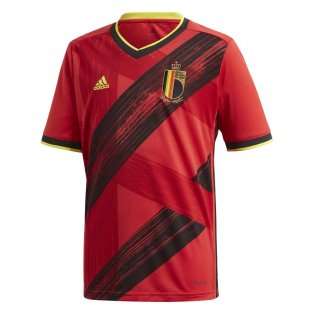 2020-2021 Belgium Home Adidas Football Shirt (Kids)