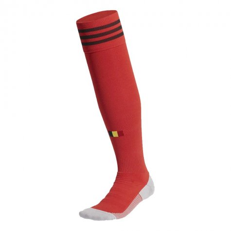 2020-2021 Belgium Home Adidas Football Socks (Red)