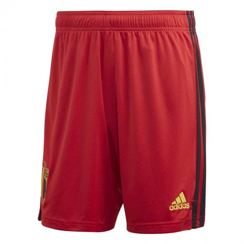 2020-2021 Belgium Home Adidas Football Shorts (Red)