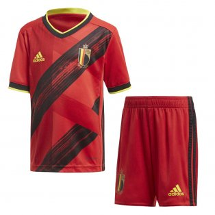 2020-2021 Belgium Home Adidas Mini Kit