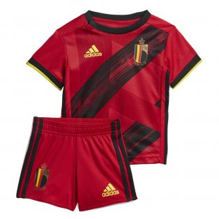 2020-2021 Belgium Home Adidas Baby Kit