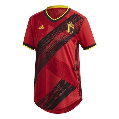 2020-2021 Belgium Home Adidas Womens Shirt
