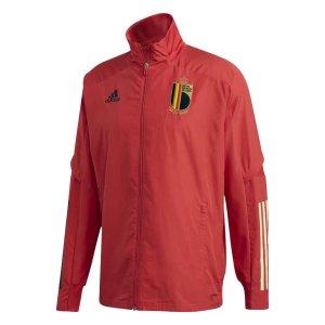2020-2021 Belgium Adidas Presentation Jacket (Red)