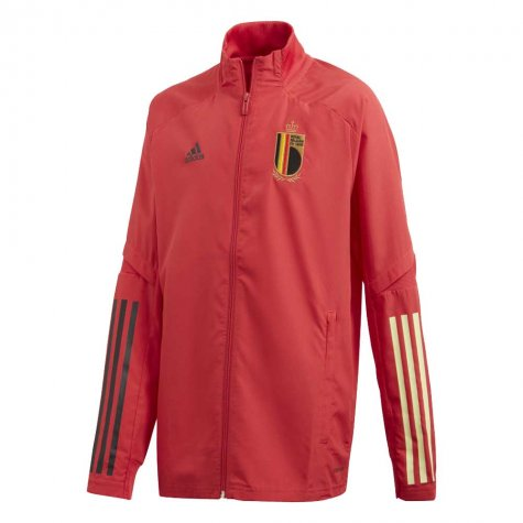 2020-2021 Belgium Adidas Presentation Jacket (Red) - Kids