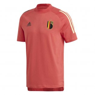 2020-2021 Belgium Adidas Training Tee (Red)