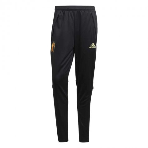 2020-2021 Belgium Adidas Training Pants (Black)