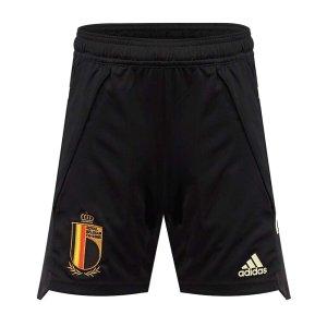 2020-2021 Belgium Adidas Training Shorts (Black) - Kids