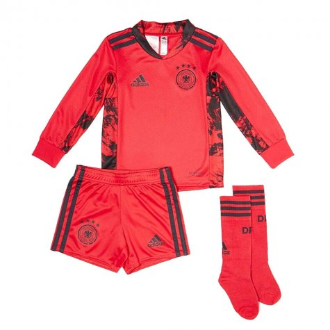 2020-2021 Germany Home Adidas Goalkeeper Mini Kit
