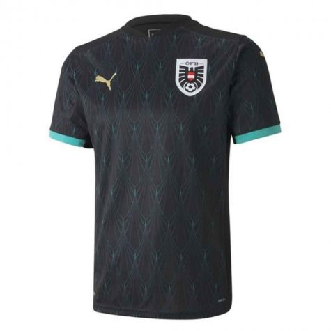 2020-2021 Austria Away Puma Football Shirt (Kids)