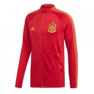 2020-2021 Spain Adidas Anthem Jacket (Red)