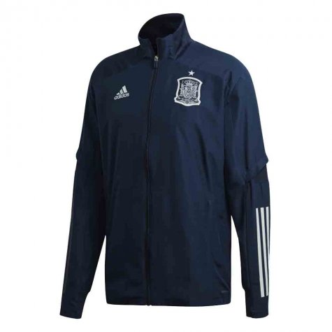 2020-2021 Spain Adidas Presentation Jacket (Navy)