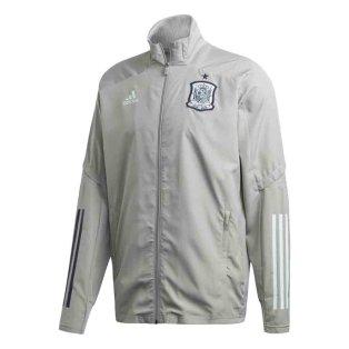 2020-2021 Spain Adidas Presentation Jacket (Grey)