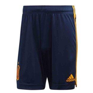 2020-2021 Spain Home Adidas Football Shorts (Blue)